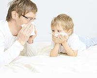 Le rhume chez l'enfant, le bébé, le nourrisson.