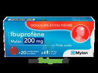 IBUPROFENE MYLAN 200 mg, comprimé enrobé à Saint-Vallier