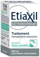 Etiaxil Aisselles Détranspirant Peau Sensibles Roll-on/15ml à Saint-Vallier