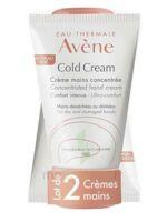 Avène Eau Thermale Cold Cream Duo Crème Mains 2x50ml à Saint-Vallier