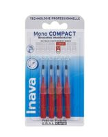Inava Brossettes Mono-compact Rouge Iso 4 1,5mm à Saint-Vallier