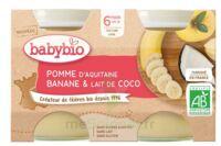 BABYBIO Pot Pomme Banane Coco à Saint-Vallier