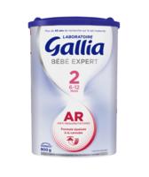 Gallia Bebe Expert Ar 2 Lait En Poudre B/800g à Saint-Vallier