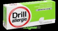 Drill 10 Mg Comprimés à Sucer Allergie Cétirizine Plq/7 à Saint-Vallier