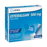 Efferalgan 500 mg Glé en sachet Sach/16 à Saint-Vallier