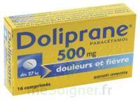 DOLIPRANE 500 mg Comprimés 2plq/8 (16) à Saint-Vallier
