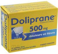 DOLIPRANE 500 mg Poudre pour solution buvable en sachet-dose B/12 à Saint-Vallier