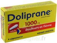 Doliprane 1000 Mg Suppositoires Adulte 2plq/4 (8) à Saint-Vallier