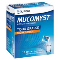 Mucomyst 200 Mg Poudre Pour Solution Buvable En Sachet B/18 à Saint-Vallier