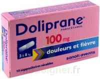 Doliprane 100 Mg Suppositoires Sécables 2plq/5 (10) à Saint-Vallier