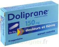 Doliprane 150 Mg Suppositoires 2plq/5 (10) à Saint-Vallier