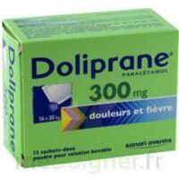 DOLIPRANE 300 mg Poudre pour solution buvable en sachet-dose B/12 à Saint-Vallier