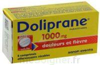 DOLIPRANE 1000 mg Comprimés effervescents sécables T/8 à Saint-Vallier