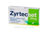 ZYRTECSET 10 mg, comprimé pelliculé sécable à Saint-Vallier