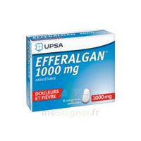 Efferalgan 1000 Mg Comprimés Pelliculés Plq/8 à Saint-Vallier