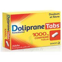 DOLIPRANETABS 1000 mg Comprimés pelliculés Plq/8 à Saint-Vallier