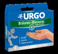 Urgo Brulures-blessures Petit Format X 6 à Saint-Vallier