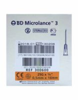 Bd Microlance 3, G25 5/8, 0,5 Mm X 16 Mm, Orange  à Saint-Vallier