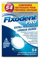 Fixodent Pro Comprimés Nettoyant Fraîcheur Longue Durée Pour Prothèse Dentaire B/54 à Saint-Vallier