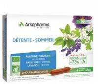 Arkofluide Bio Ultraextract Solution buvable détente sommeil 20 Ampoules/10ml à Saint-Vallier