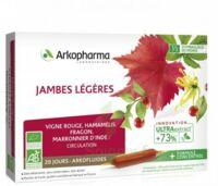 Arkofluide Bio Ultraextract Solution Buvable Jambes Légères 20 Ampoules/10ml à Saint-Vallier
