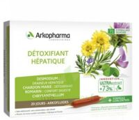 Arkofluide Bio Ultraextract Solution Buvable Détoxifiant Hépatique 20 Ampoules/10ml à Saint-Vallier
