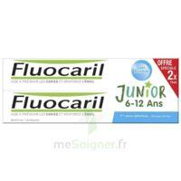 Fluocaril Junior Dentifrice Bubble Gum 6-12ans 2t/75ml à Saint-Vallier