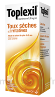 Toplexil 0,33 Mg/ml, Sirop 150ml à Saint-Vallier