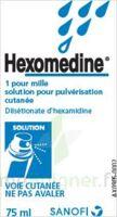 HEXOMEDINE 1 POUR MILLE, solution pour pulvérisation cutanée en flacon pressurisé à Saint-Vallier