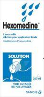 Hexomedine 1 Pour Mille S Appl Loc Fl/250ml à Saint-Vallier