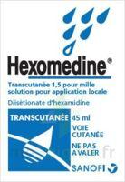HEXOMEDINE TRANSCUTANEE 1,5 POUR MILLE, solution pour application locale à Saint-Vallier