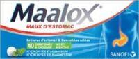 Maalox Hydroxyde D'aluminium/hydroxyde De Magnesium 400 Mg/400 Mg Cpr à Croquer Maux D'estomac Plq/40 à Saint-Vallier
