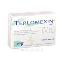 TERLOMEXIN 200 mg, capsule molle vaginale à Saint-Vallier
