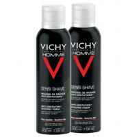 VICHY mousse à raser peau sensible LOT à Saint-Vallier