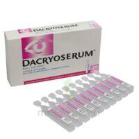 DACRYOSERUM Solution pour lavage ophtalmique en récipient unidose 20Unidoses/5ml à Saint-Vallier