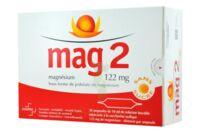MAG 2 122 mg S buv en ampoule sans sucre édulcoré à la saccharine sodique 30Amp/10ml à Saint-Vallier