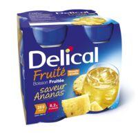 Delical Boisson Fruitee Nutriment Ananas 4bouteilles/200ml à Saint-Vallier