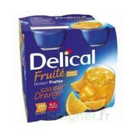 Delical Boisson Fruitee Nutriment Orange 4bouteilles/200ml à Saint-Vallier