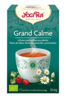 YOGI TEA GRAND CALME à Saint-Vallier