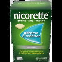NICORETTE 2 mg Gom à mâcher médic sans sucre menthe fraîche Plq/105gom à Saint-Vallier