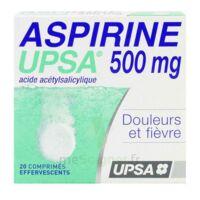 Aspirine Upsa 500 Mg, Comprimé Effervescent à Saint-Vallier