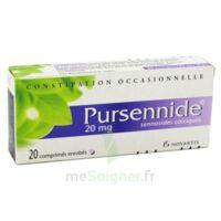 PURSENNIDE 20 mg, comprimé enrobé à Saint-Vallier