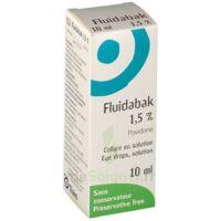 Fluidabak 1,5 %, Collyre En Solution à Saint-Vallier
