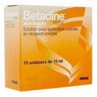 Betadine Alcoolique 5 % S Appl Cut En Récipient Unidose B/10 à Saint-Vallier