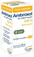 AMBROXOL EG LABO CONSEIL 0,6 %, solution buvable à Saint-Vallier