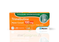 Trimebutine Mylan Conseil 100 Mg, Comprimé à Saint-Vallier