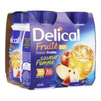 Delical Boisson Fruitee Nutriment Pomme 4bouteilles/200ml à Saint-Vallier