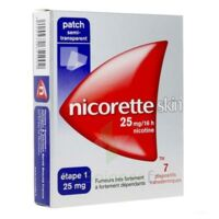 Nicoretteskin 25 mg/16 h Dispositif transdermique B/28 à Saint-Vallier