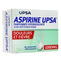 Aspirine Upsa Tamponnee Effervescente 1000 Mg, Comprimé Effervescent à Saint-Vallier