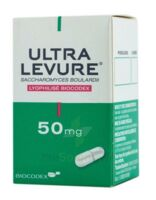 ULTRA-LEVURE 50 mg Gélules Fl/50 à Saint-Vallier